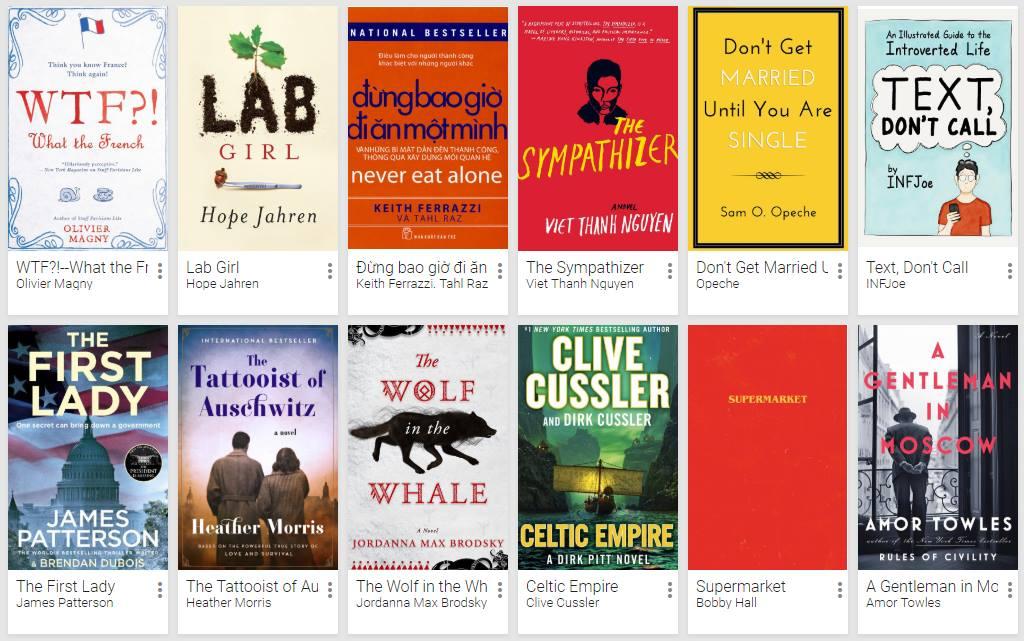 Review một số sách tôi đọc gần đây